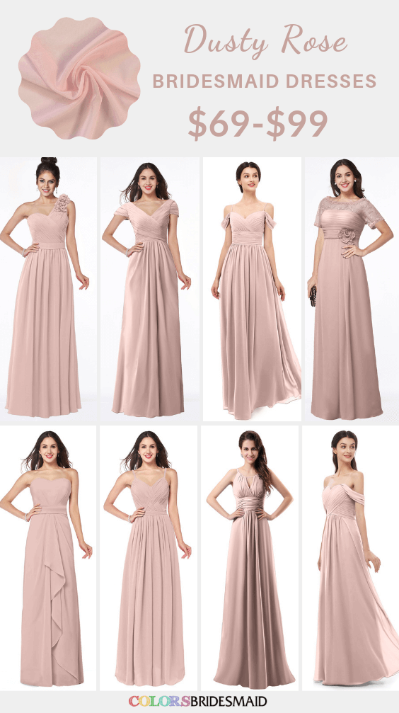 22+ Cheap dusty rose bridesmaid dresses ideas in 2021