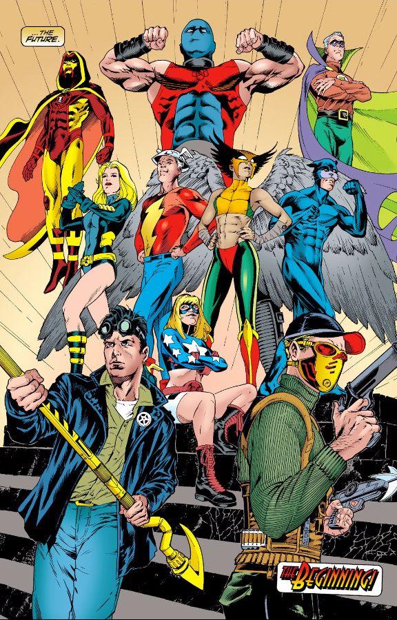 Justice Society Of America Dc Comics Art Dc Comics Characters Comics