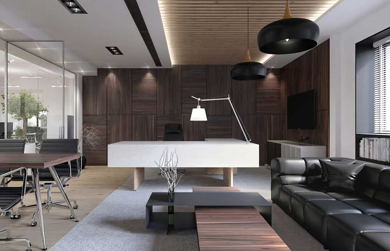Pin By En On Studio Ideas Modern Office Interiors Executive
