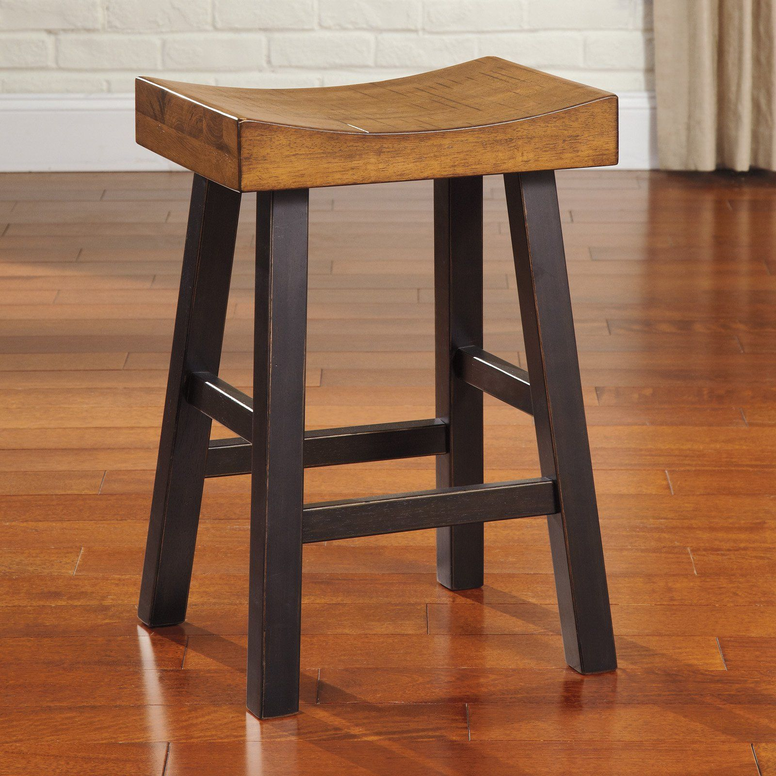 Signature Design By Ashley Glosco 25 In Backless Counter Stool