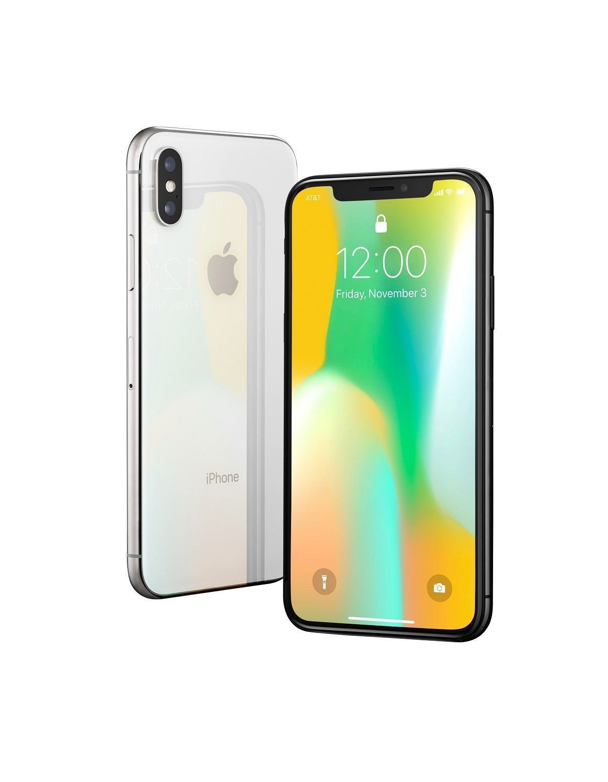 Apple iphone x 64900 free shipping 64gb silver at