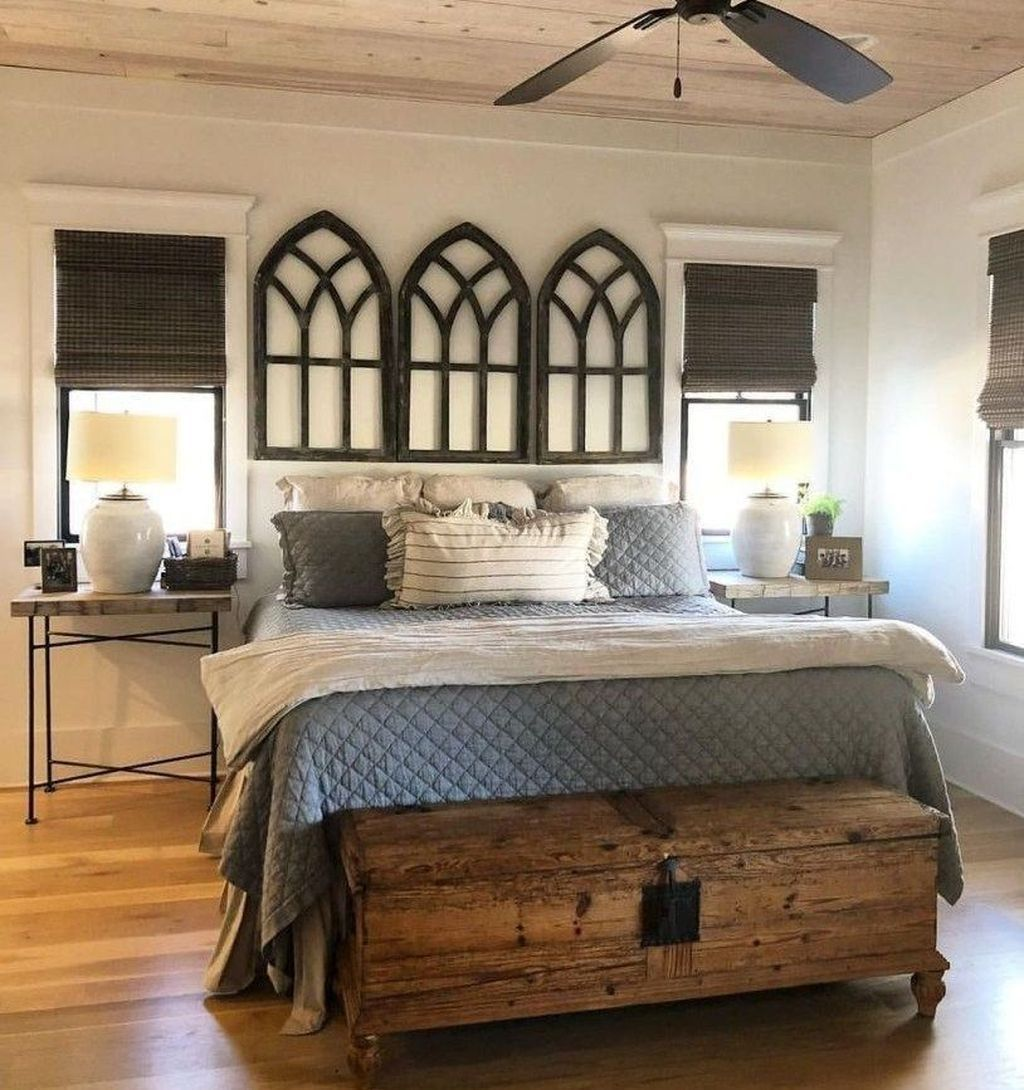 Best 47 Awesome Master Bedroom Decorating Ideas Rustic Master Bedroom Farmhouse Bedroom Decor 400 x 300