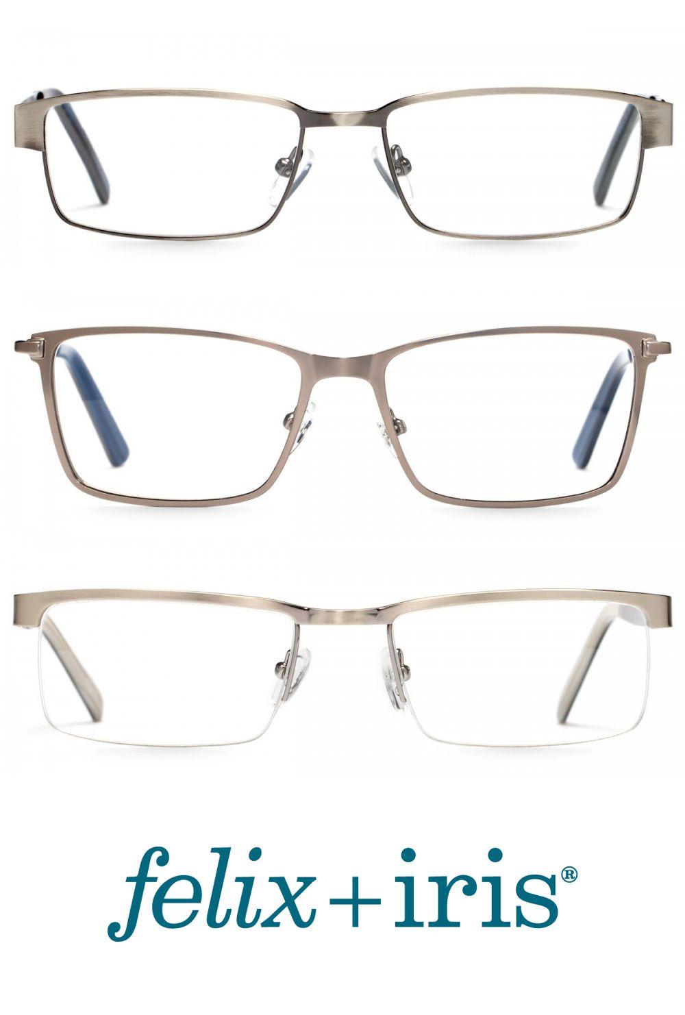 The Best Silver Metal Eyeglasses Frames For Men Or Women Felix Iris Glasses Eyeglass Frames For Men Vintage Eye Glasses Men Eyeglasses
