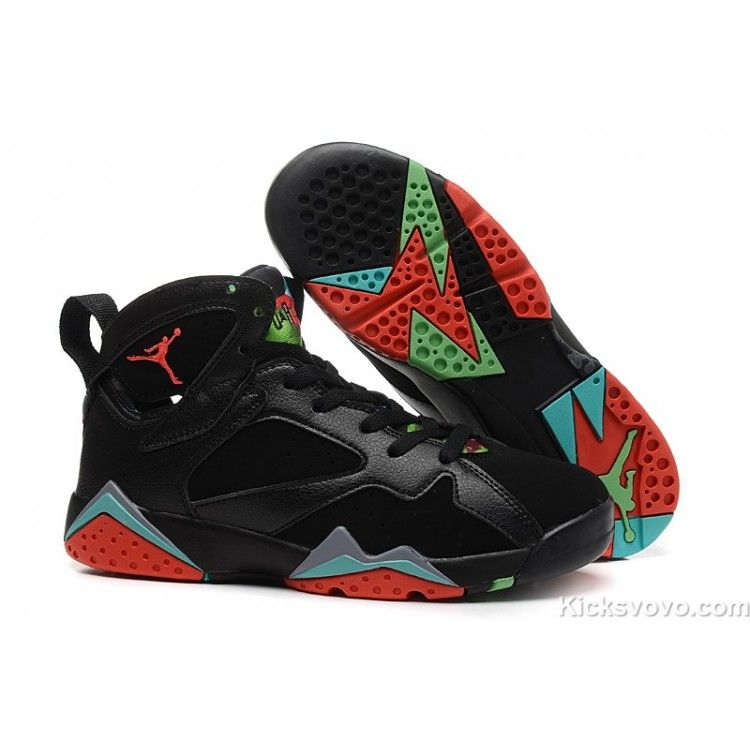 check out cf745 f2dfc Women s Air Jordan 7 Retro Black Orange at kicksvovo.com
