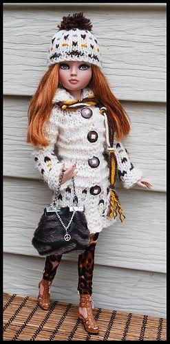 Browns2 Barbie Pinterest Barbie Kleider Stricken Und Häkeln