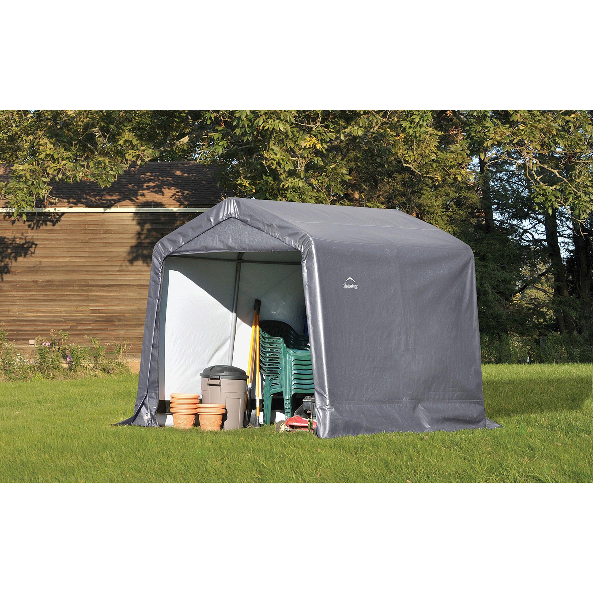 ShelterLogic 70432 8' x 8' ShedinaBox® Storage Shed