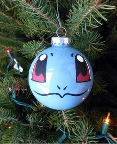 6 diy methods for making geeky christmas ornaments squirtle via the nifty nerd - Nerdy Christmas Ornaments