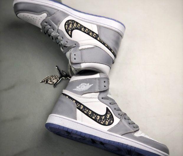 hyperoomprive   Jordan 1 Retro High Dior   Jordan shoes girls ...