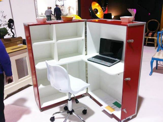 Office in a box furniture Toolbox Office In Box Perfect For Small Spaces Pinterest Office In Box Perfect For Small Spaces Studio Small Spaces