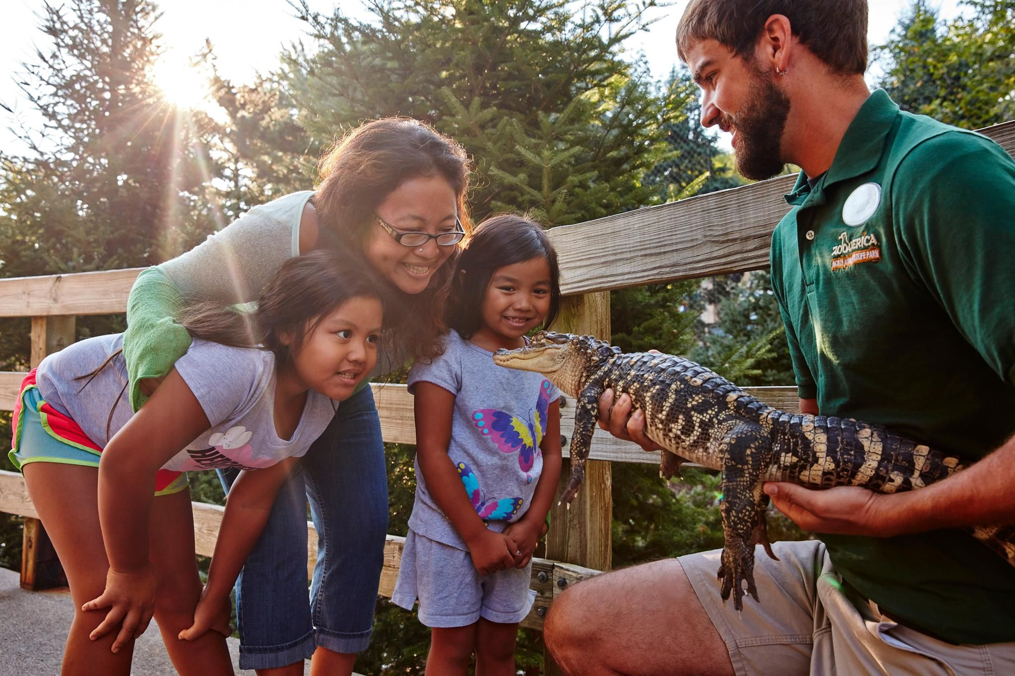 ZooAmerica is open in March and offers fun programs for