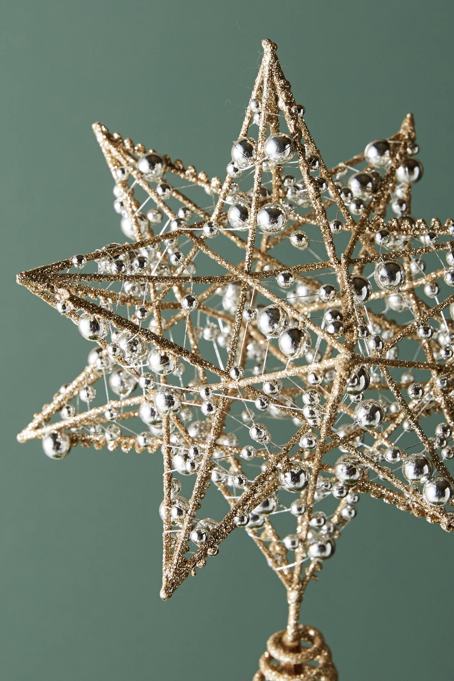 Slide View: 2: Dew-Sprinkled Star Tree Topper