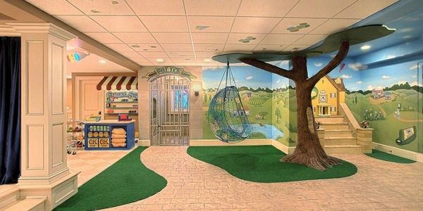 Kinderzimmer gestalten - Ideen für das Untergeschoss - kinderzimmer gestalten ideen