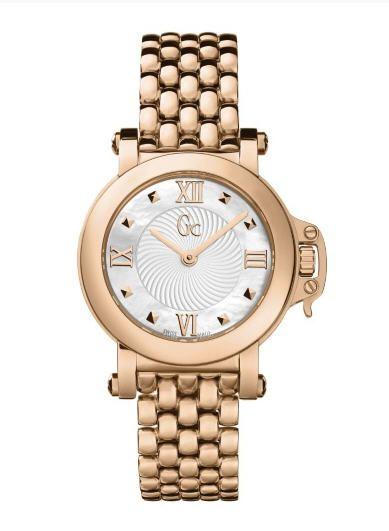 684c8e1db5c4 Soldes Montre Guess, achat montre Gc Femme Bijou Rose Gold Watch prix  Soldes Guess 293.40 € TTC au lieu de 489 €