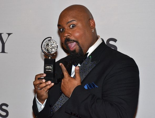 """I love this guy It would be reasonable to assume that Tony nominees have big plans for after the ceremony. After all, some of the theater community's biggest parties happen following the show. But it turns out that's not always the case. """"My wife and I will go to McDonald's,"""" said Featured Actor in a Musical winner James Monroe Iglehart. """"It keeps us humble. We take our Tony, we take our tux, we take our dress...we get in our car, we get a Big Mac and some fries, and we kick it with the…"""