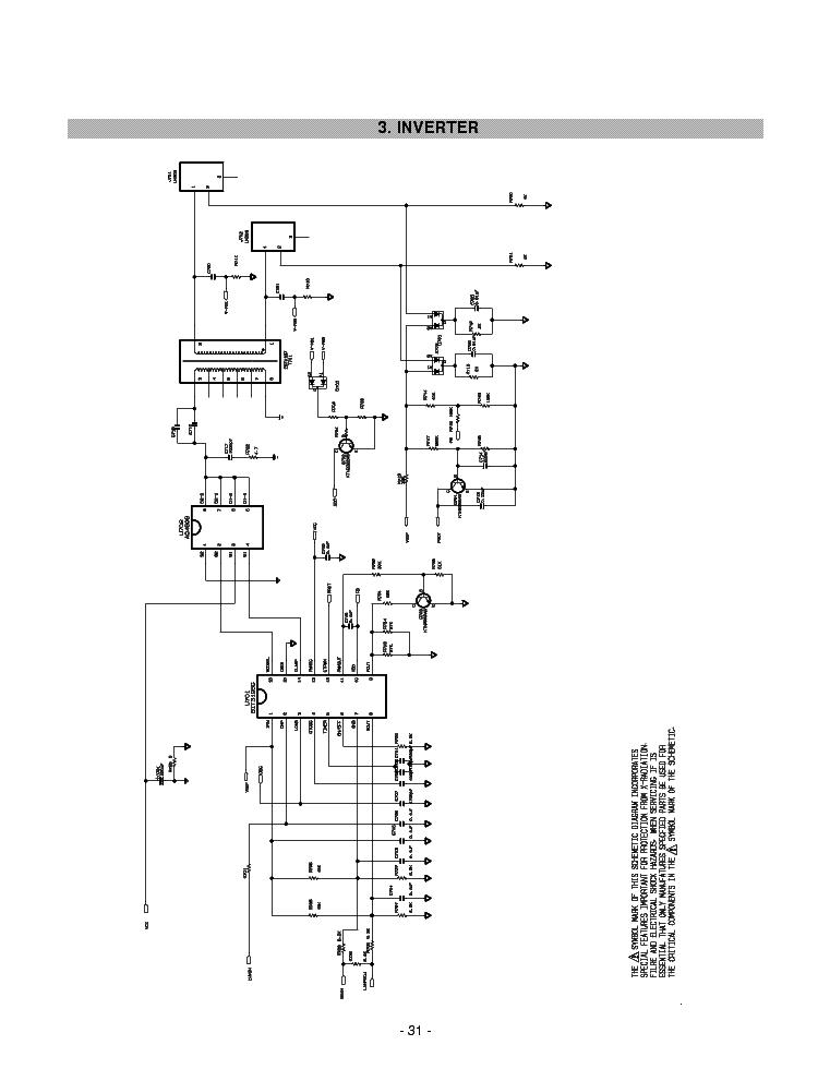 LG USP490M-42LP PDP42V6 PLASMA TV POWER SUPPLY SCHEMATIC