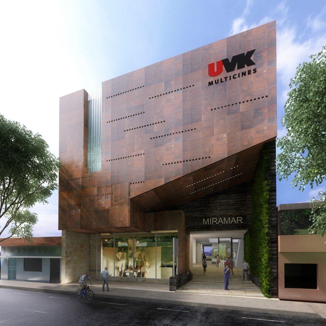 Proyecto arquitectura centro comercial tem tico en ilo moquegua per fachadas locales - Recubrimientos de fachadas ...