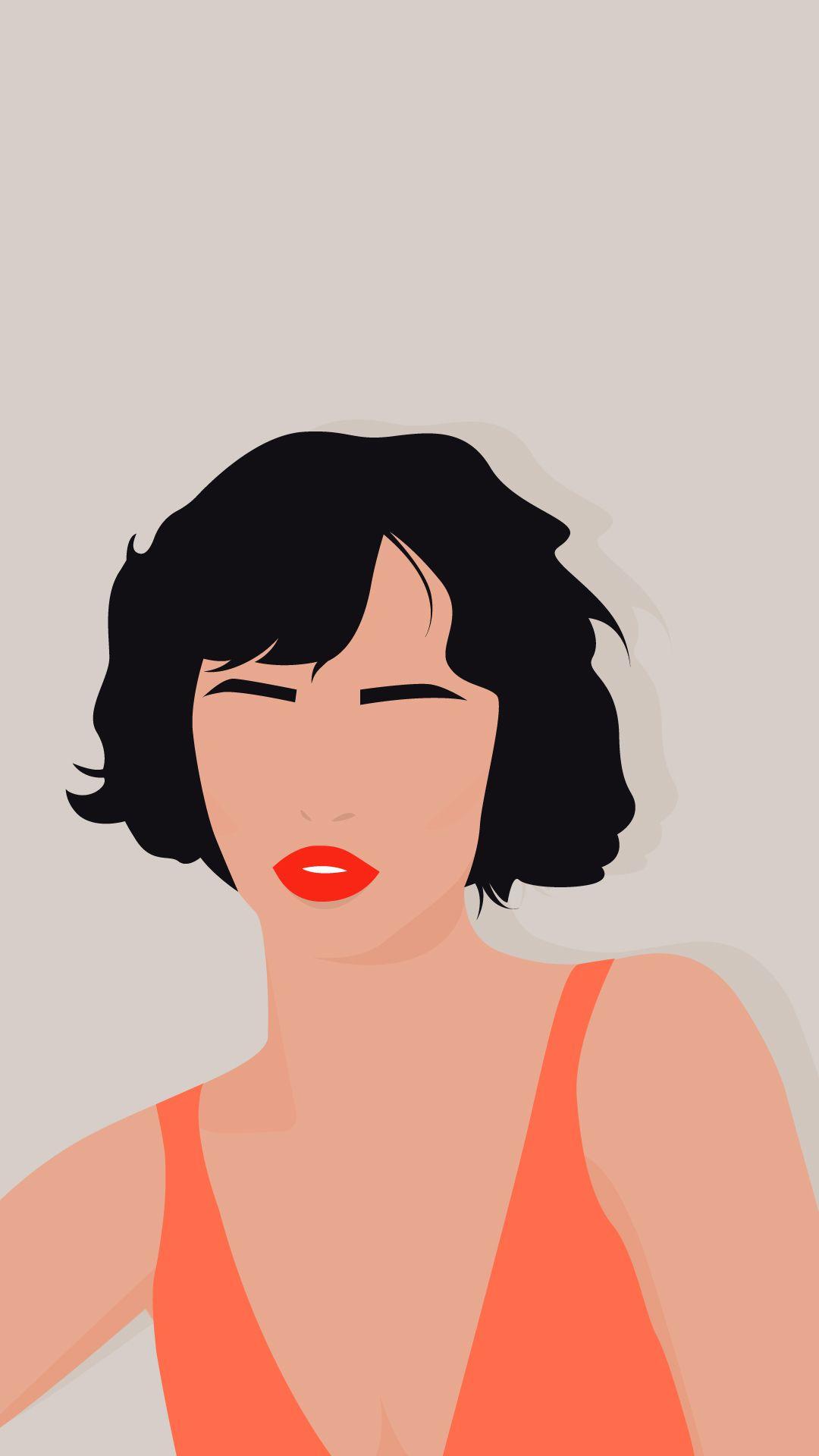Girl Illustration Poster Designs