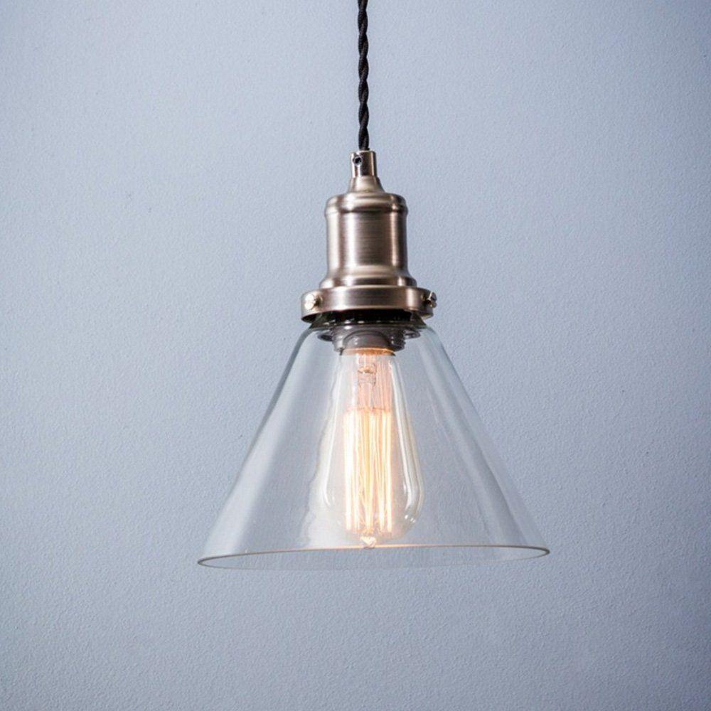 hoxton cone glass pendant light lighting pinterest pendant