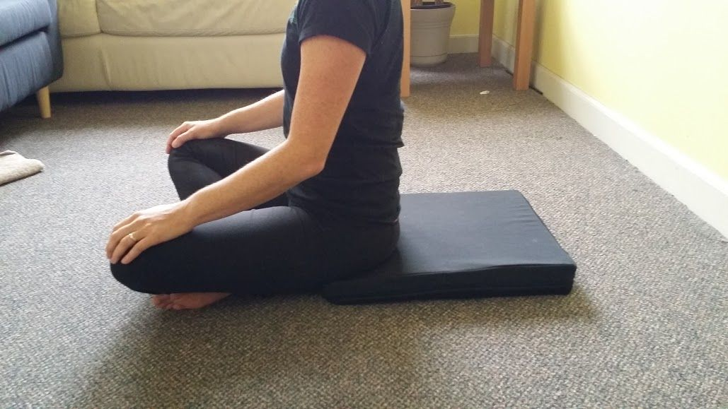 crisscross sitting on a pad Pelvic floor, Exercise, Muscle