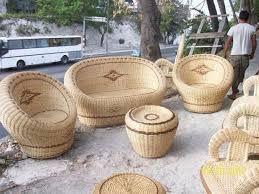 Resultado de imagen para muebles de mimbre en cuba