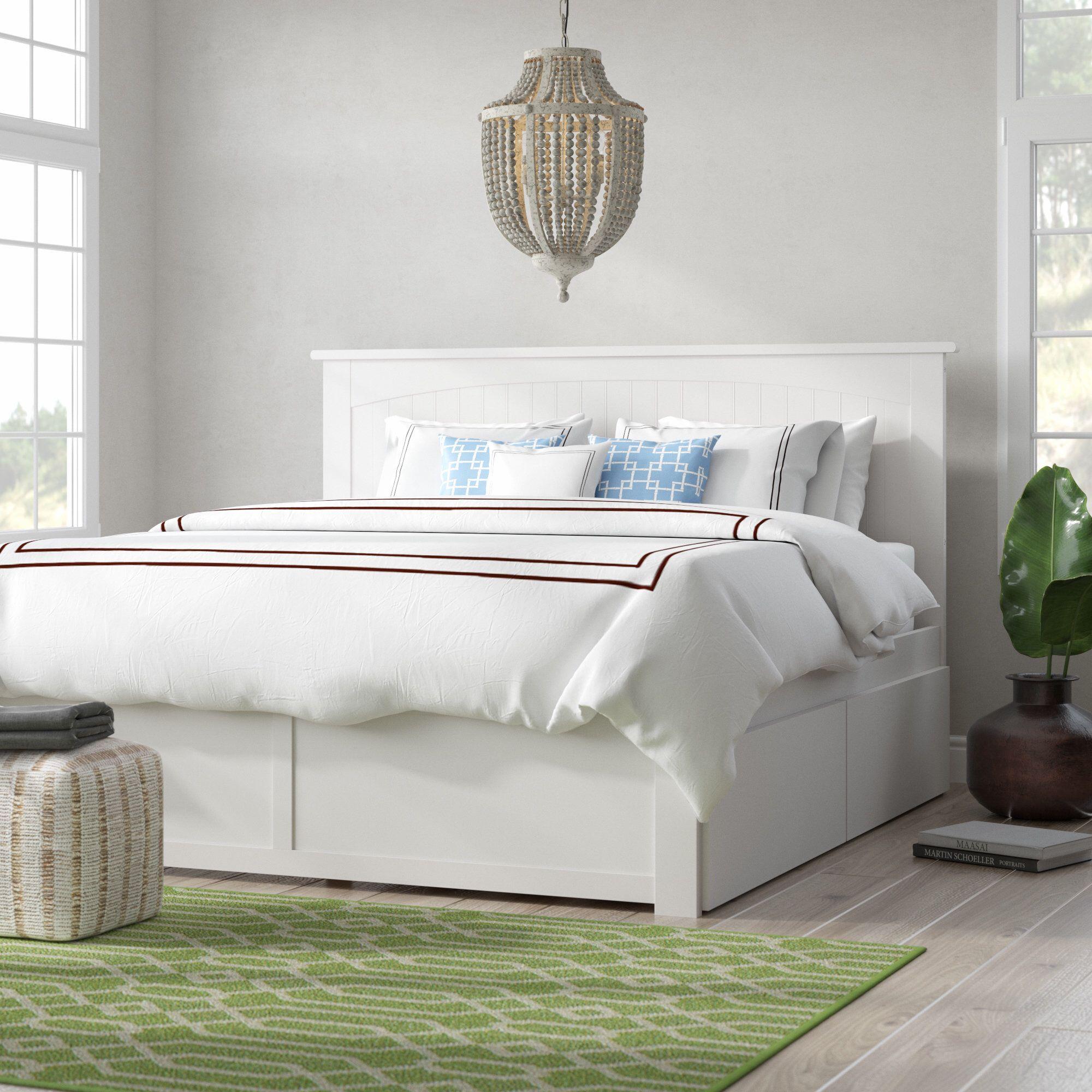 Graham King Storage Platform Bed Bed frame with drawers