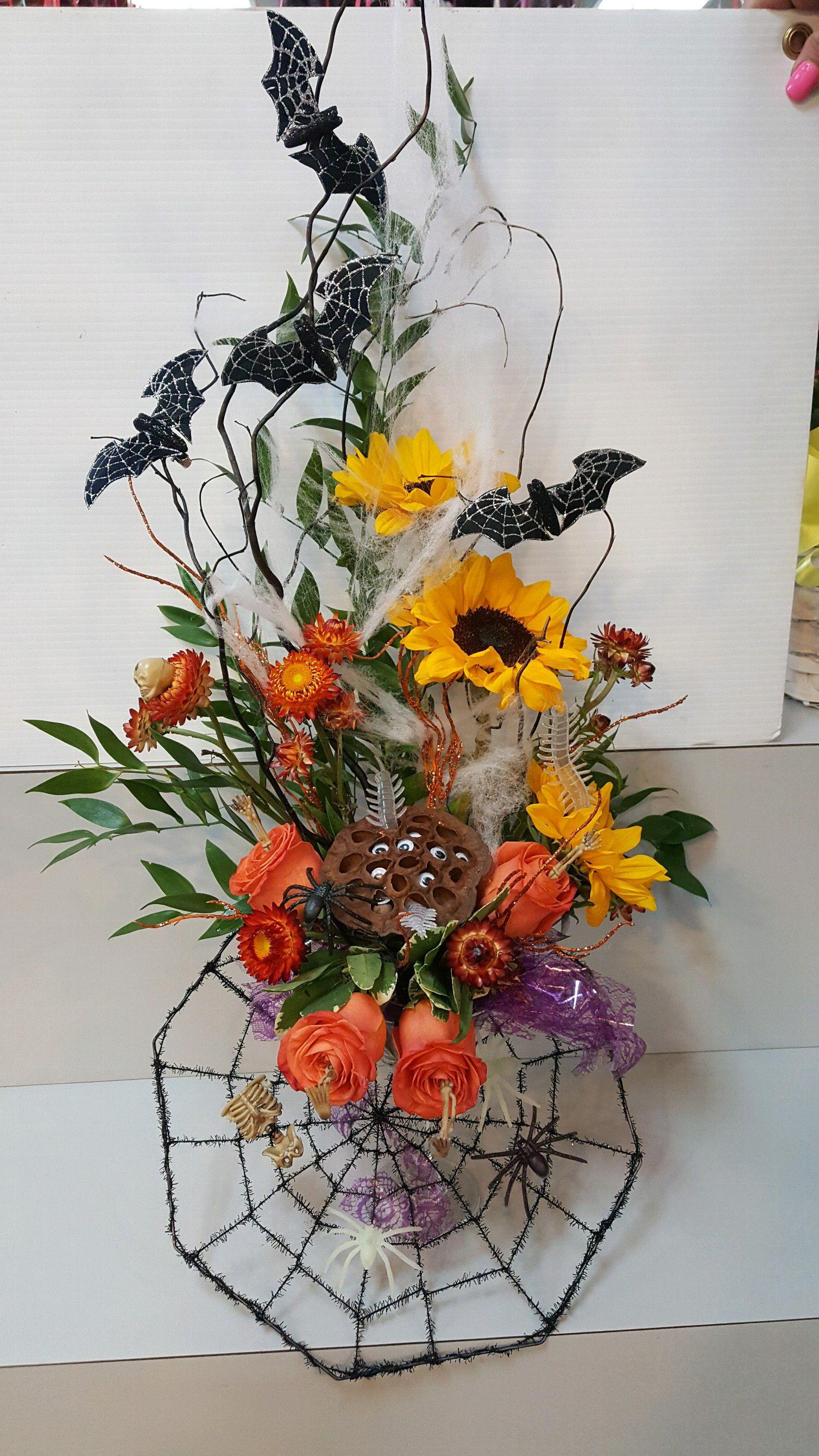 Pin by Flowerama Cleveland on Halloween Fall wreath