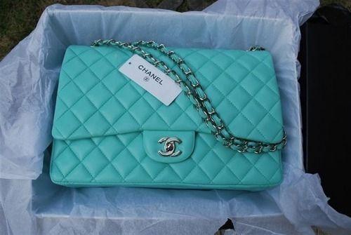 2bacb0bccd4a Turquoise Chanel Bag | fancy thangs | Bolsos chanel, Chanel, Bolsos