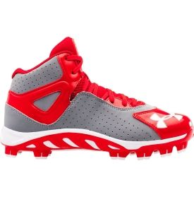 under armour spine baseball cleats white