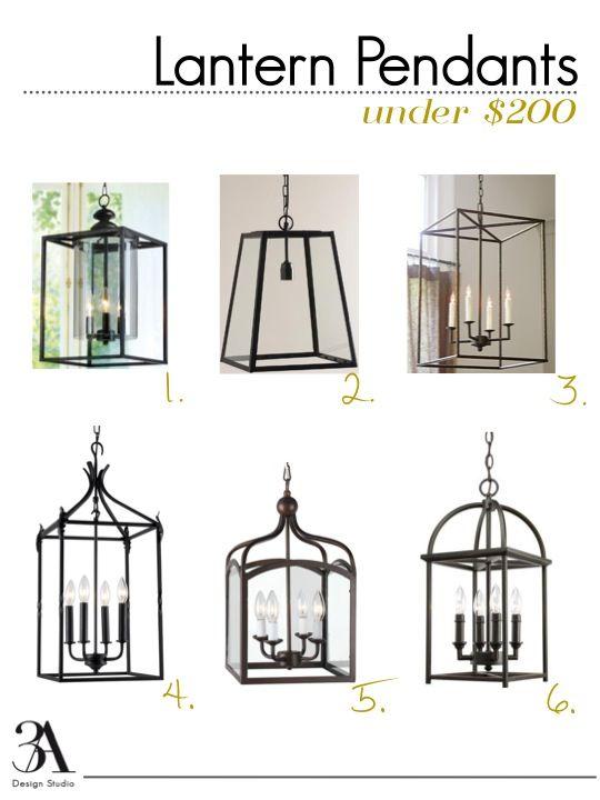 Six Stylish Lantern Pendants That Won T Break The Bank Entryway