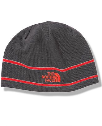 d8d5eae59 The North Face Hat, Wool-Blend Logo Stripe Logo Beanie - Macy's ...