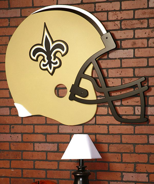 Take a look at this New Orleans Saints Helmet Wall Art on zulily today!