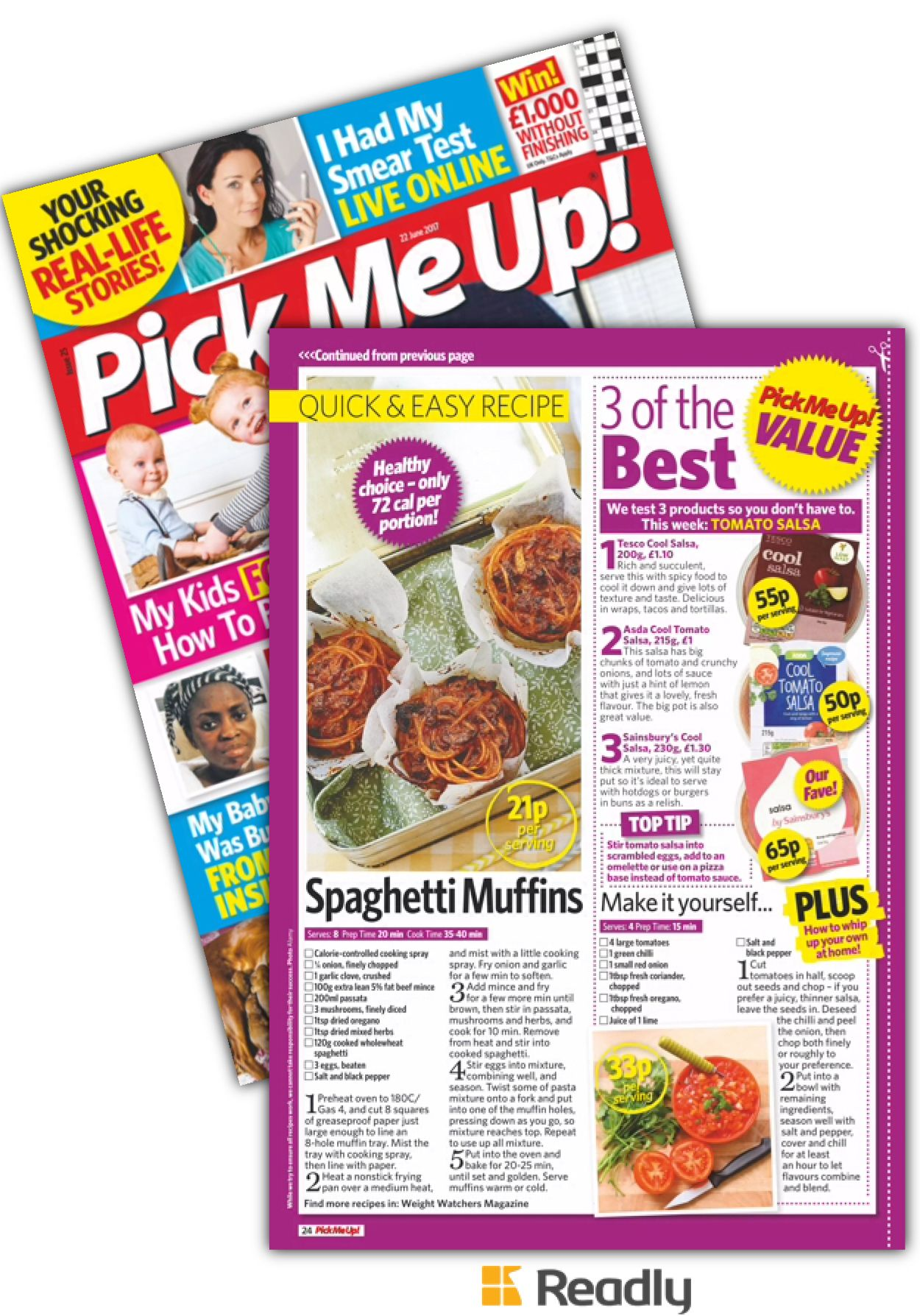 Suggestion about Pick Me Up! Magazine 22nd June 2017 page 24