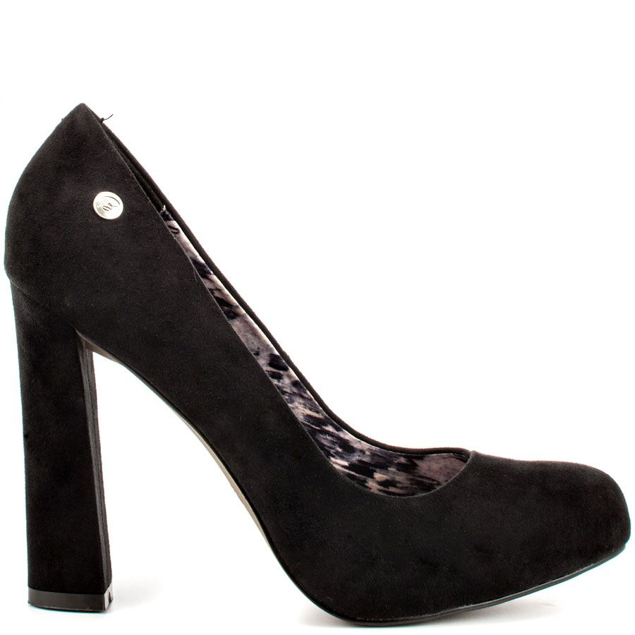 83fee5e564 This Blink pump brings you a lush black fabric covering the curved  silhouette. A wrapped 4 1/4 inch block heel will keep you ...