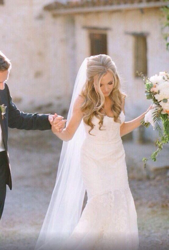 51 Striking Long Wedding Hair Ideas  Hochzeit  Haare