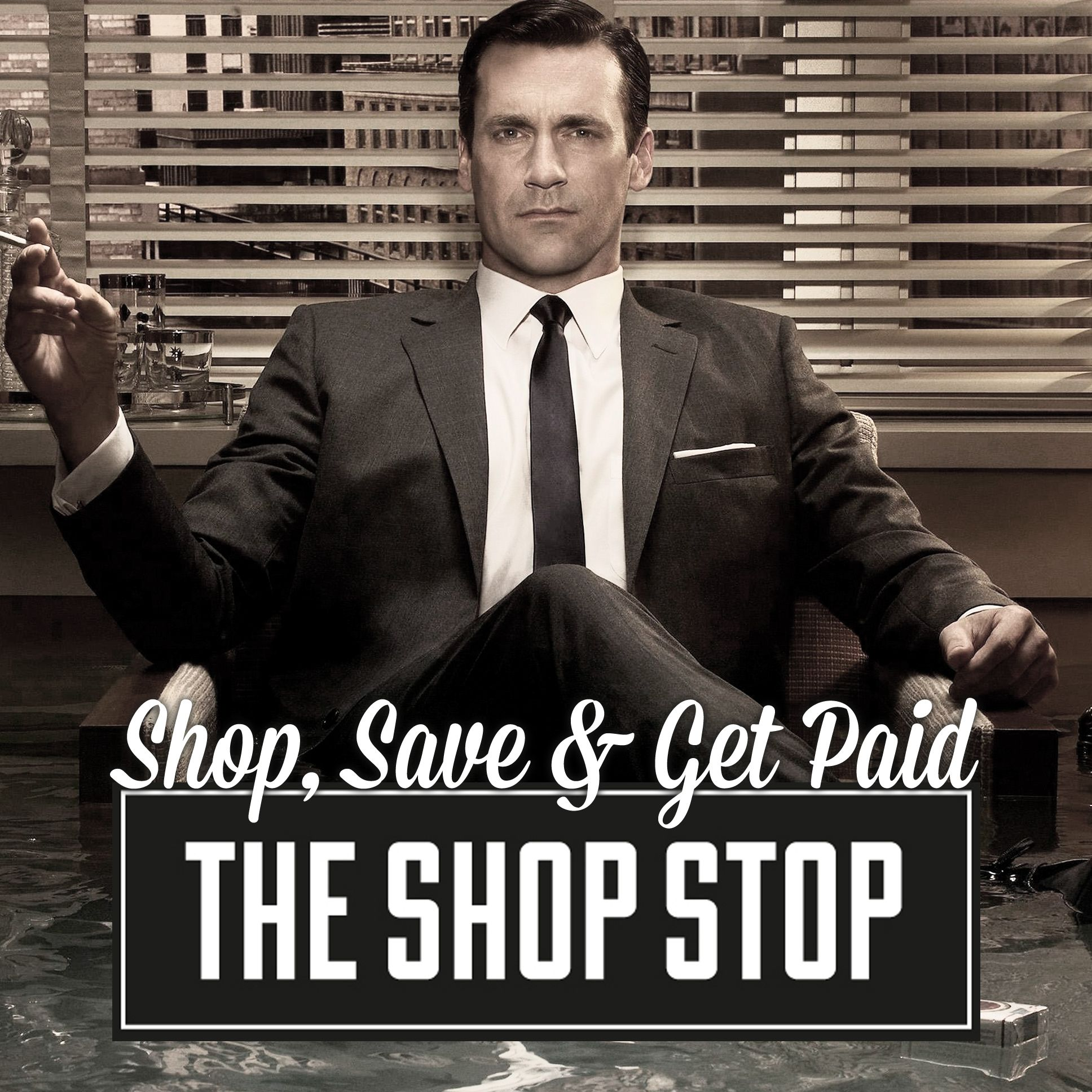 Shop, save and get paid Draper style mens fashion