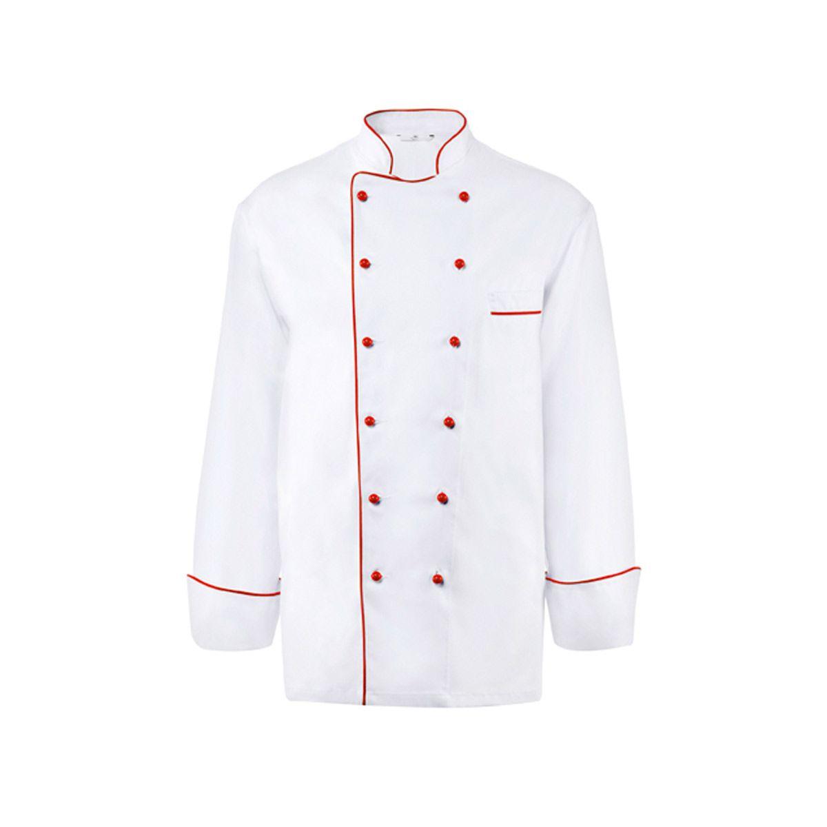 Veste chef cuisinier homme 360 est un v tement de travail for Emploi cuisinier scolaire