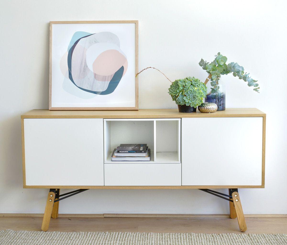 Zeno Scandinavian Sideboard Buffet Cabinet Interior Secrets Sideboard Styles Scandinavian Style Furniture Scandinavian Style Sideboard