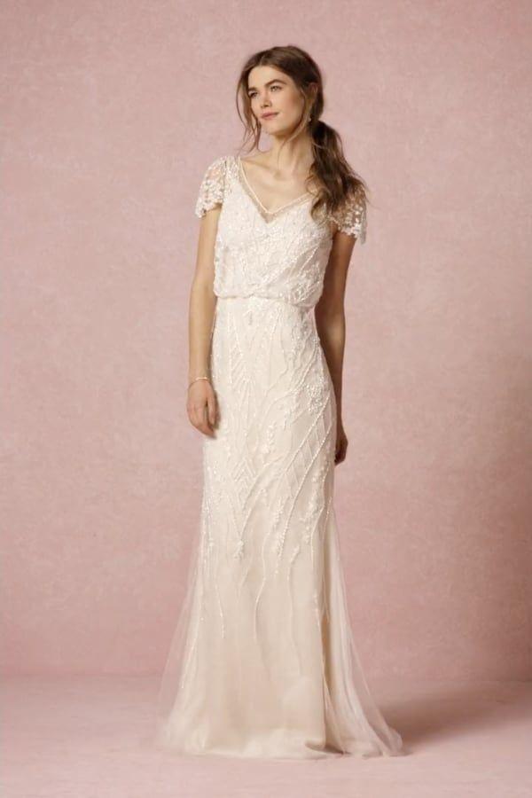 Aurora Gown from BHLDN | Casamiento | Pinterest | Vestidos de novia ...