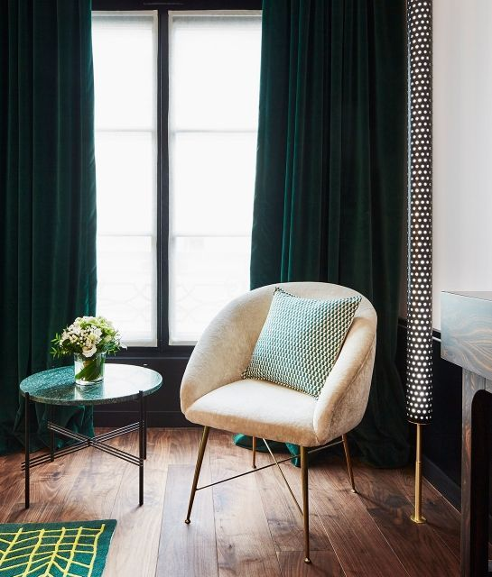 Digging Emerald Green Interiors With