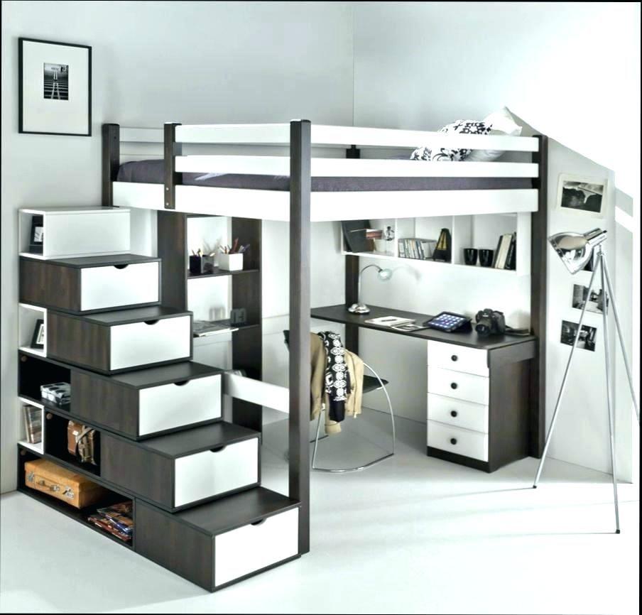 Lit Mezzanine Enfant Avec Etagere Design Bibliotheque Chambre Design Chambre Ado Lit Chambre Enfant