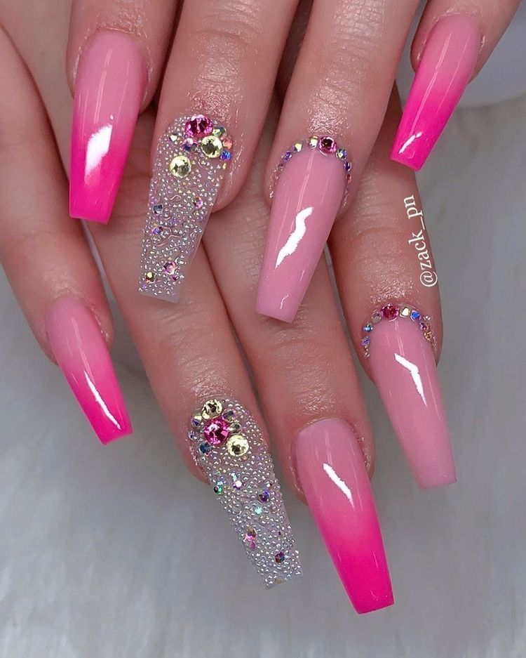 Pin By Jessica Garcia On Nails In 2020 Fall Acrylic Nails Coffin Nails Designs Pretty Acrylic Nails