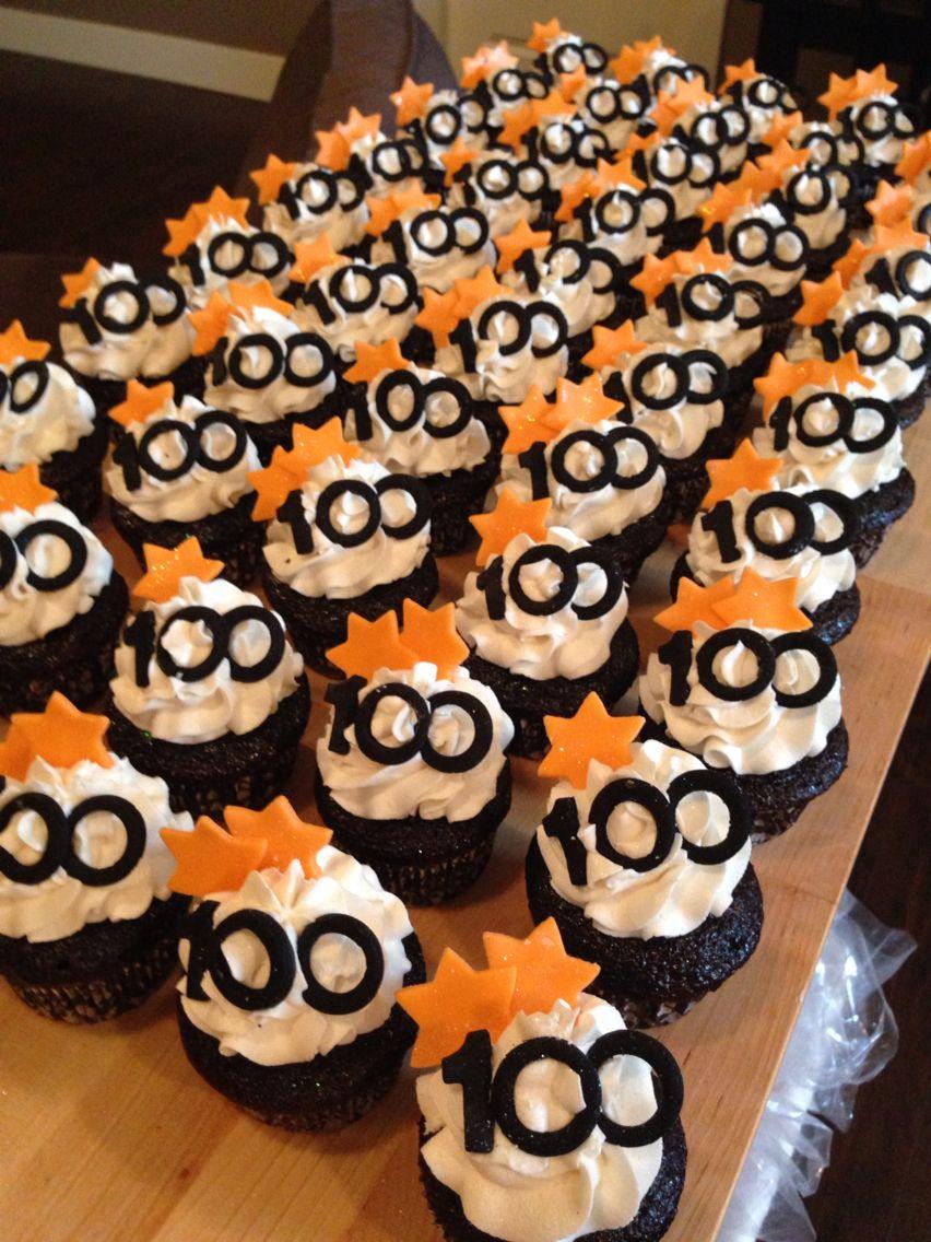 100 Year Celebration Cupcakes Centennial Cupcakes 100