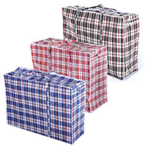 Jumbo Small Laundry Bags Zipped Reusable Large Strong Shopping Storage Bag Bag Storage Large Laundry Bag Laundry Storage