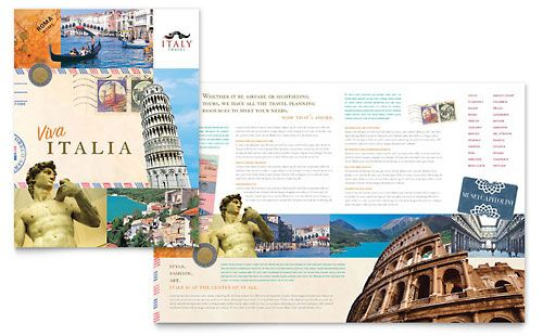 Travel  Tourism Brochures  Flyers  Word  Publisher Templates