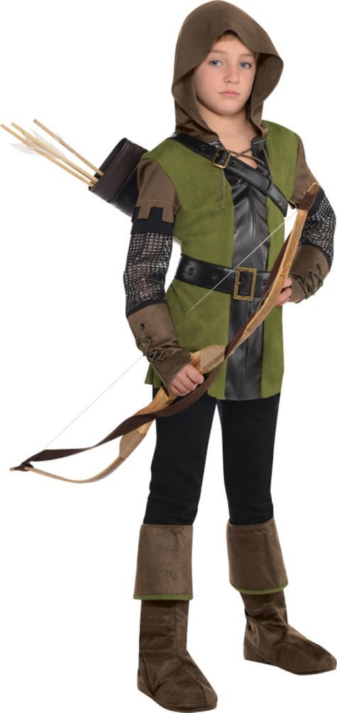 Boys Prince of Thieves Robin Hood Costume - Party City  sc 1 st  Pinterest & Boys Prince of Thieves Robin Hood Costume | Robin hoods Robins and ...