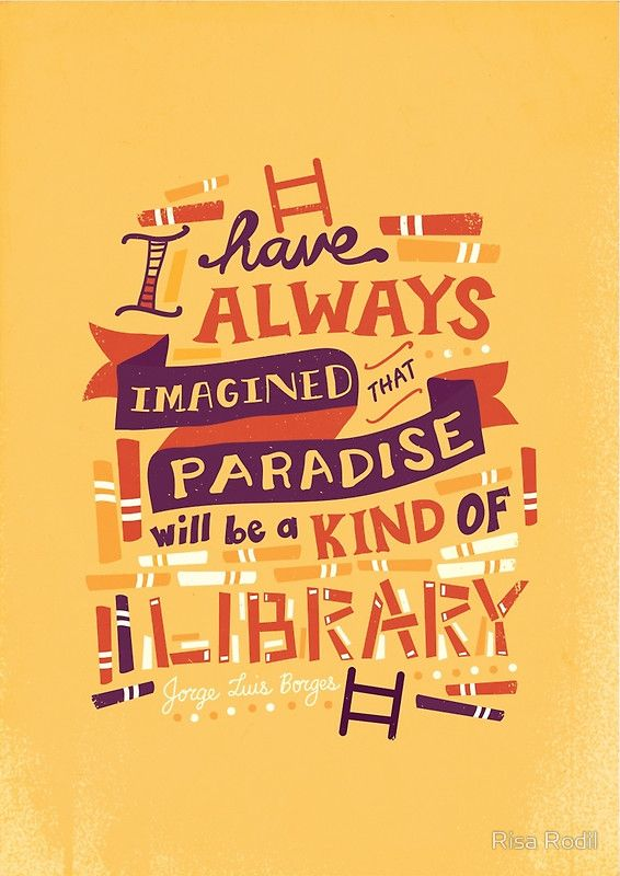 """""""Library"""" Prints by Risa Rodil 