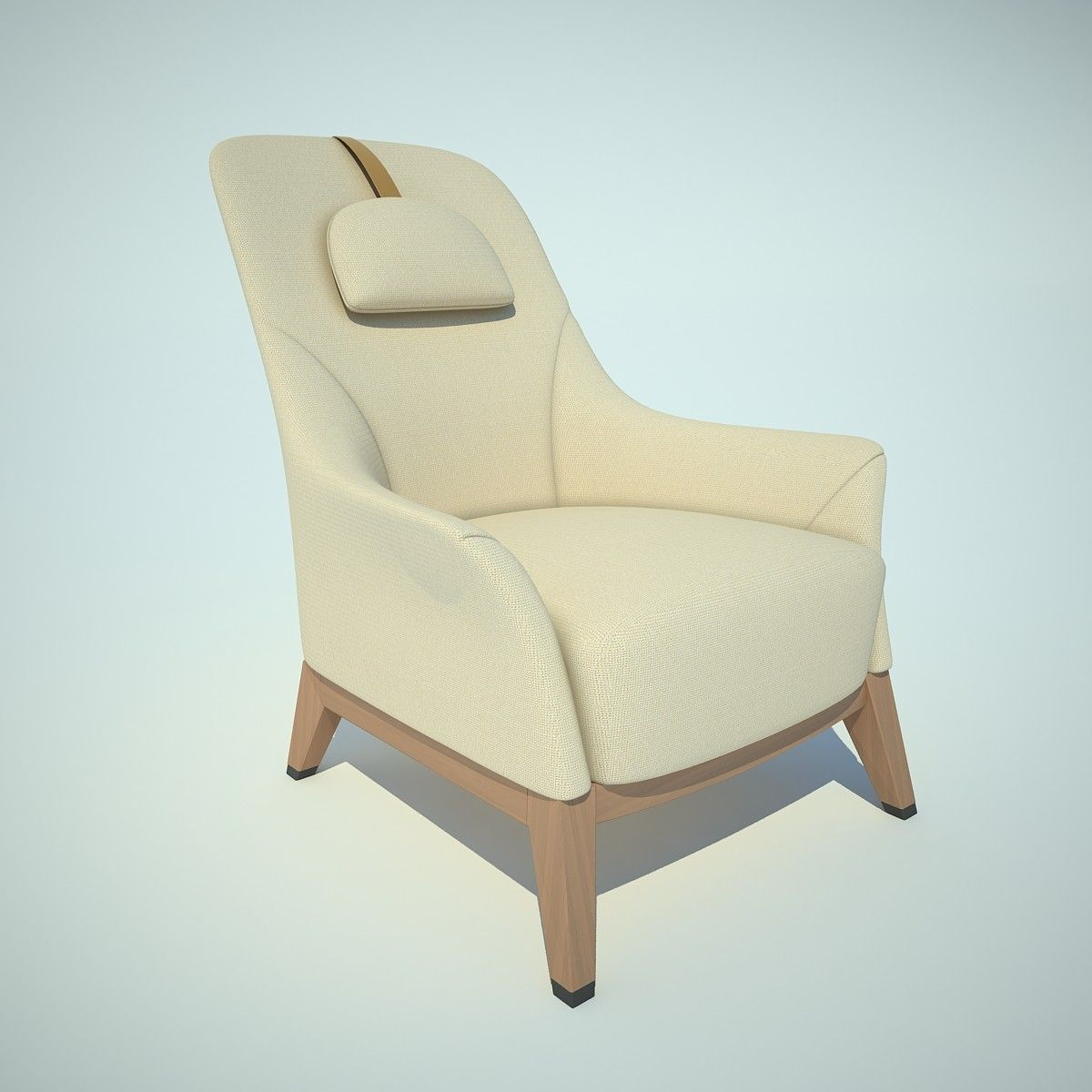 3Ds Normal Chair 3D Model
