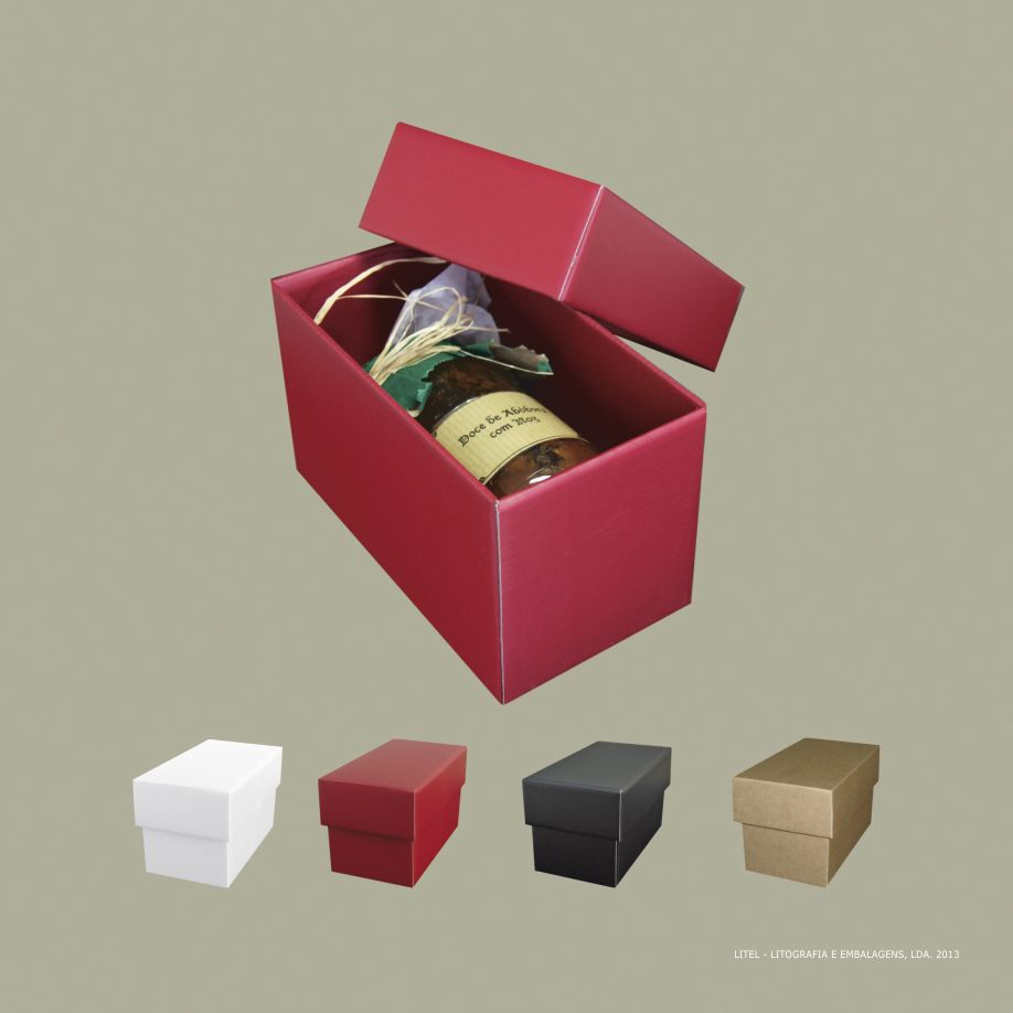 GOURMET S caixa de papel / paper box / boite du papier / caja de papel / karton