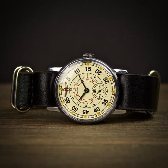 80c2bc26b Original vintage soviet watch Aviator. Watches for men, mens watch, Russian  watch, military watch, v