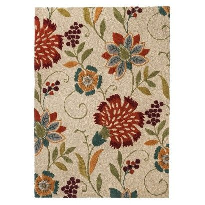 Fresh Living Room · Threshold™ Floral Wool Area Rug Target Part 98